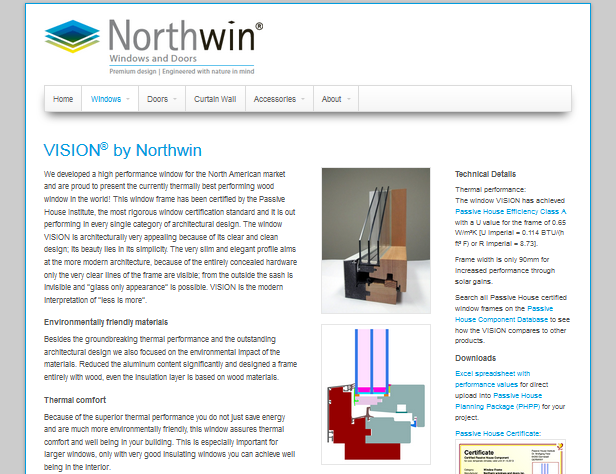 Harrmann Passive House Consultant - Northwin windows